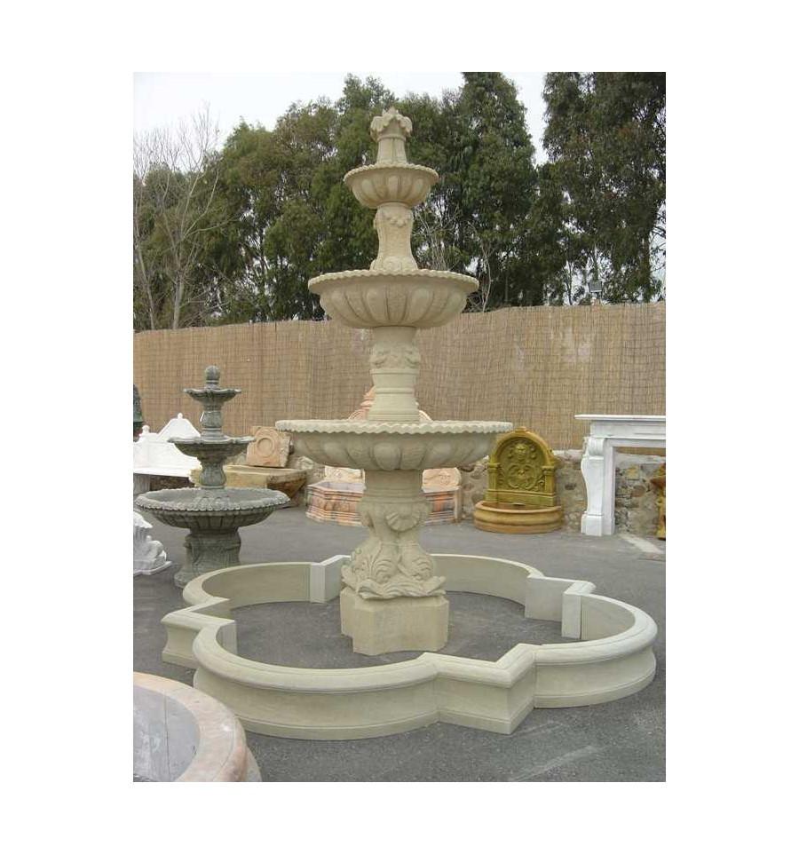5 fuentes para decorar jardines - Fuentes para interiores ...