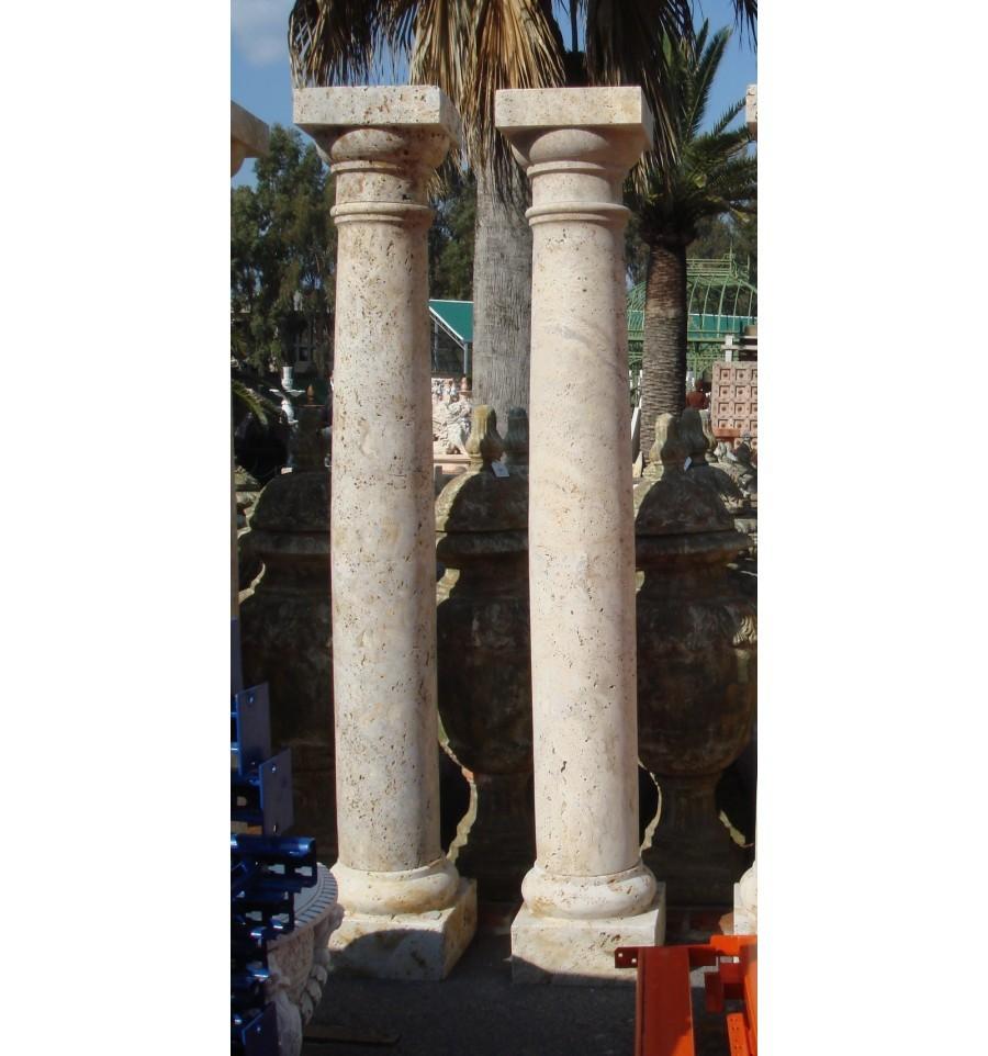 Columnas de m rmol tienda de decoraci n de jardines y - Columna de marmol ...